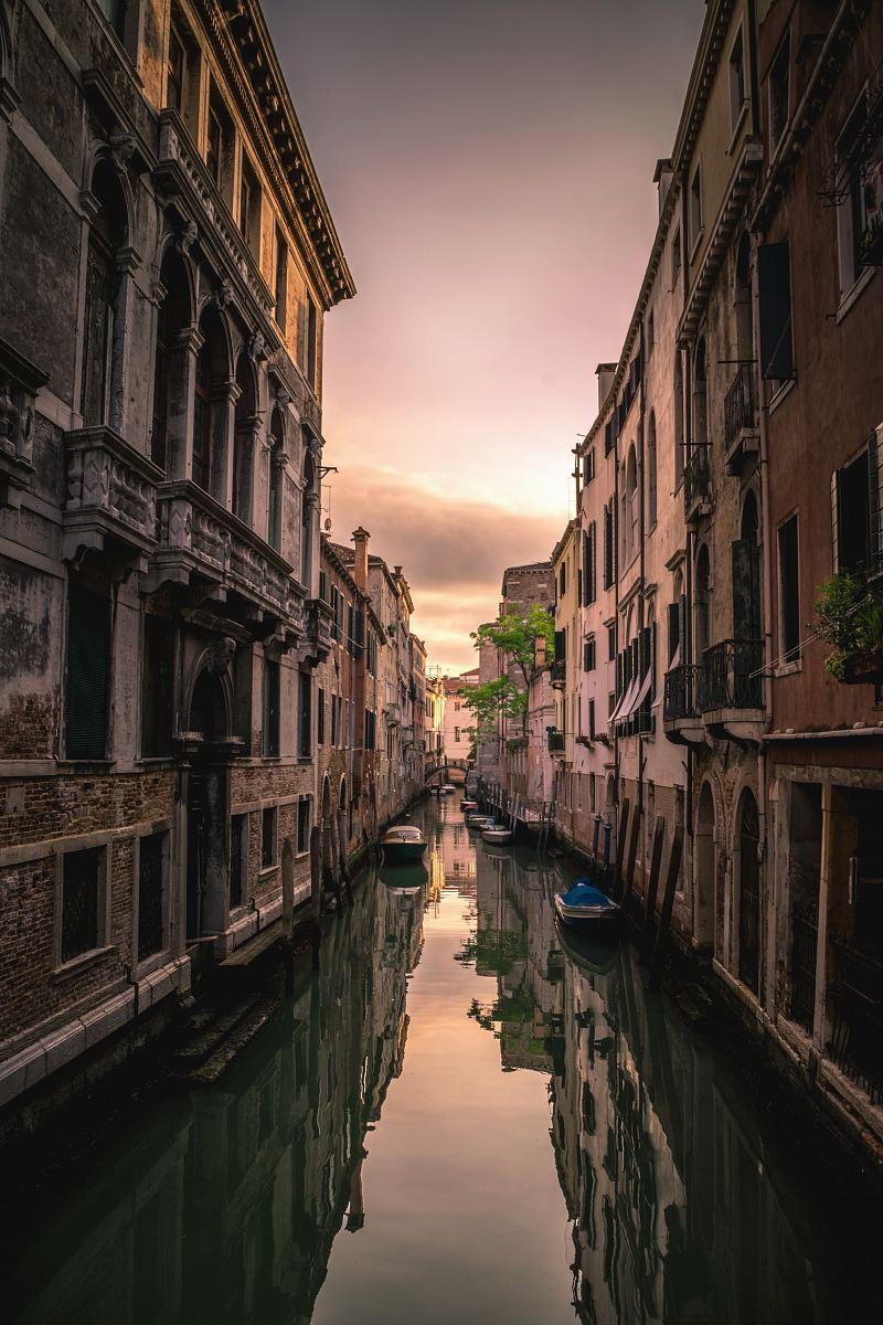 stock photos free  of Venice Canal, Italy