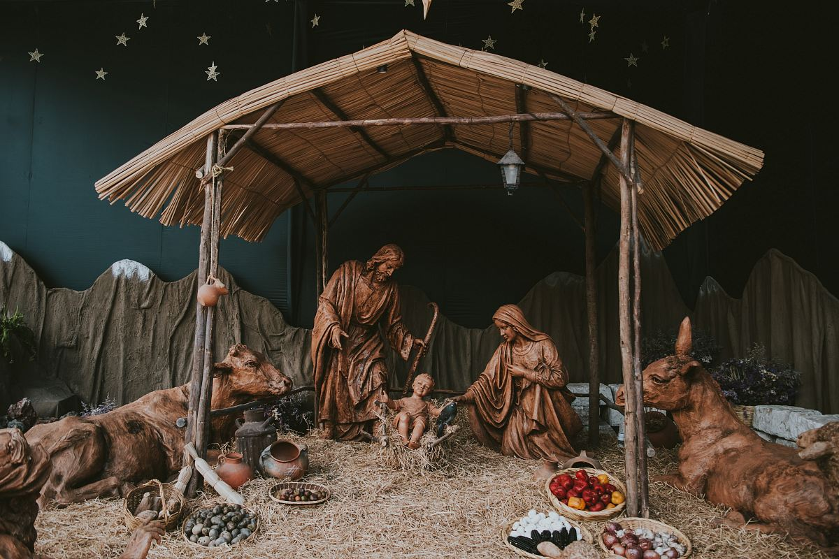 stock photos free  of The Nativity decor