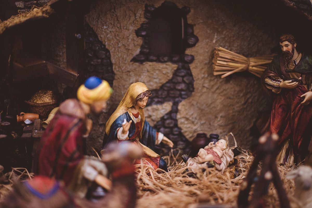 stock photos free  of The Nativity figurine closeup photography