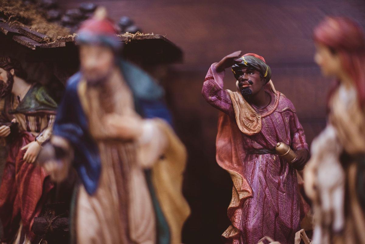 stock photos free  of three Kings figurine