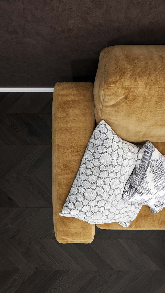 Cushion Two Gray Throw Pillows On Brown Sofa Home Decor Image Free Stock Photo