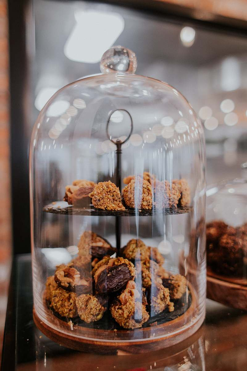 stock photos free  of creme pastries on tray ice cream