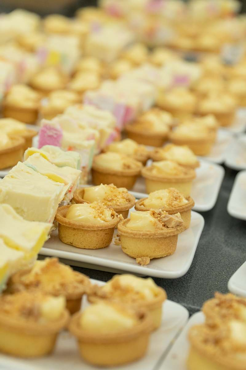 stock photos free  of bakery cupcakes on trays confectionery