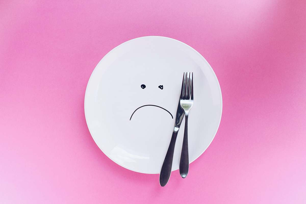 stock photos free  of plate silver fork and knife on plate pink