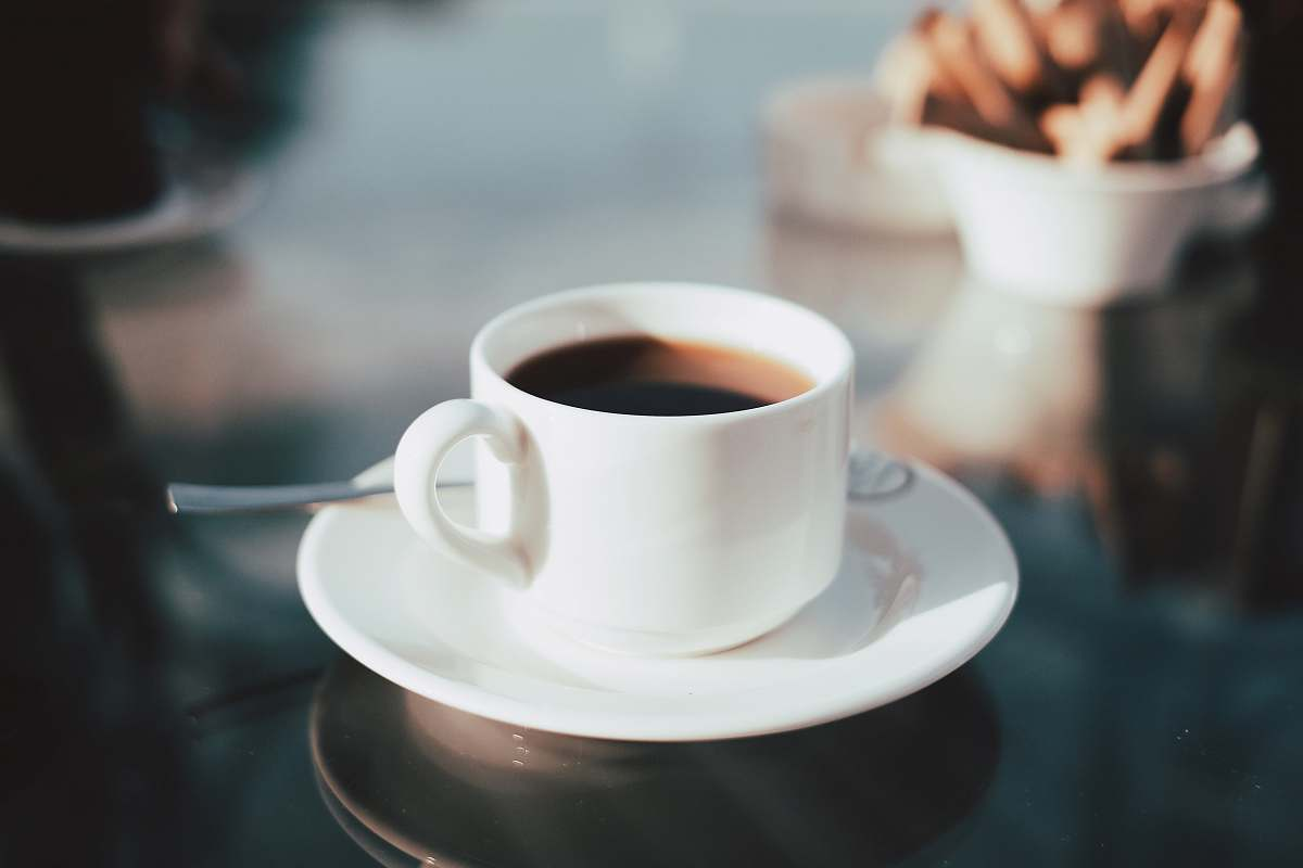 stock photos free  of coffee cup of coffee on white ceramic saucer coffee cup