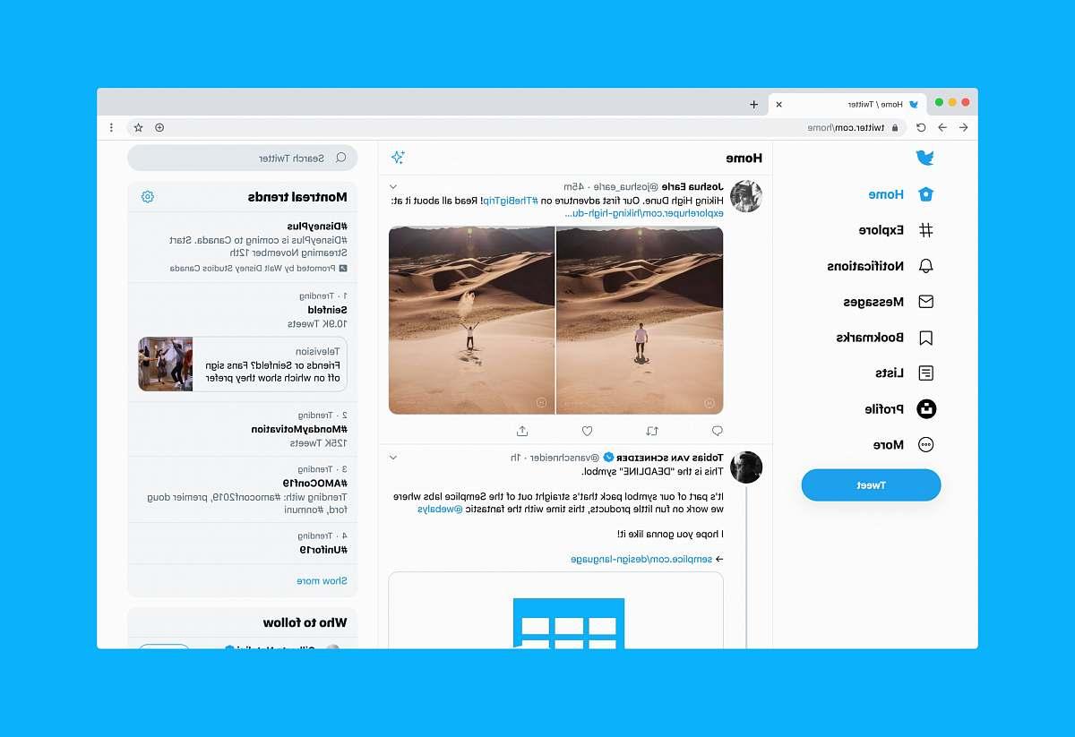 stock photos free  of human Twitter website on desktop person