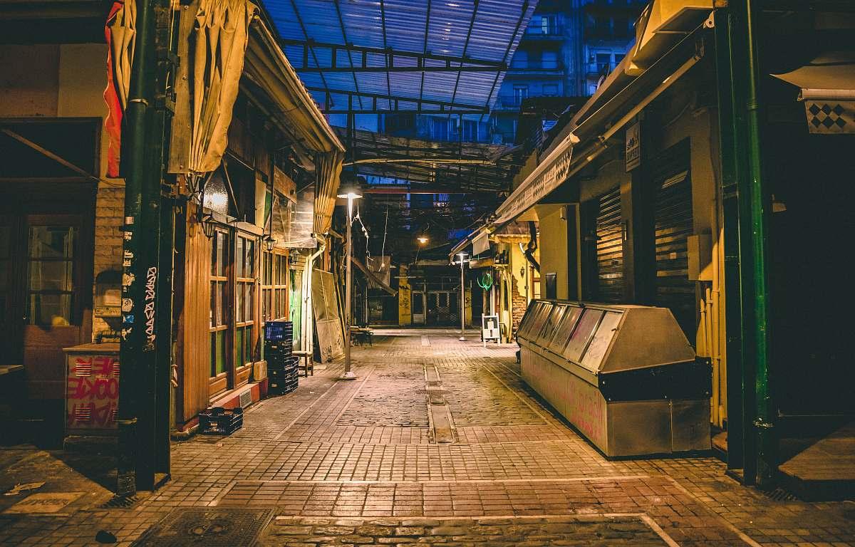 stock photos free  of urban  street