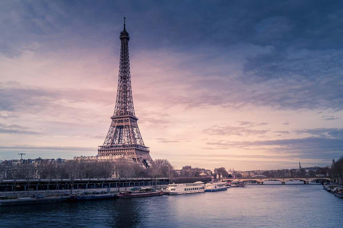 stock photos free  of architecture Eiffel Tower, Paris France building
