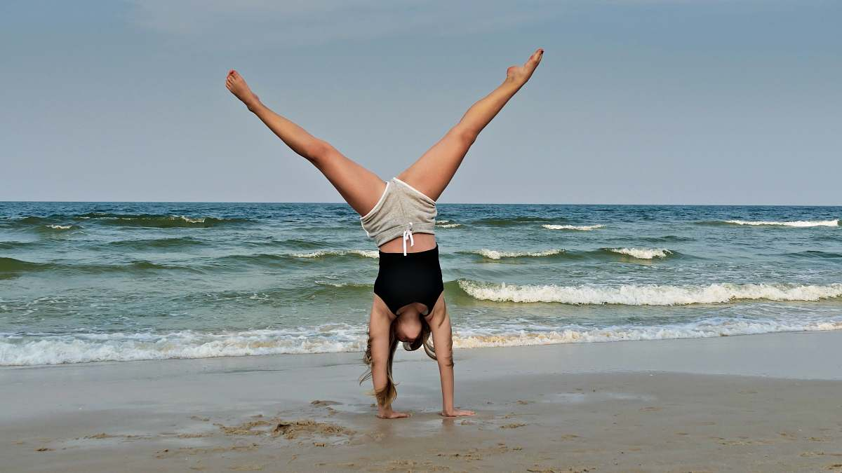 stock photos free  of human woman on seashore sport