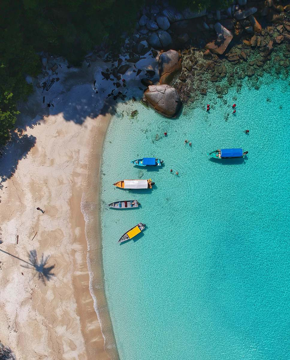 stock photos free  of outdoors aerial view photography of boats on seashore sand