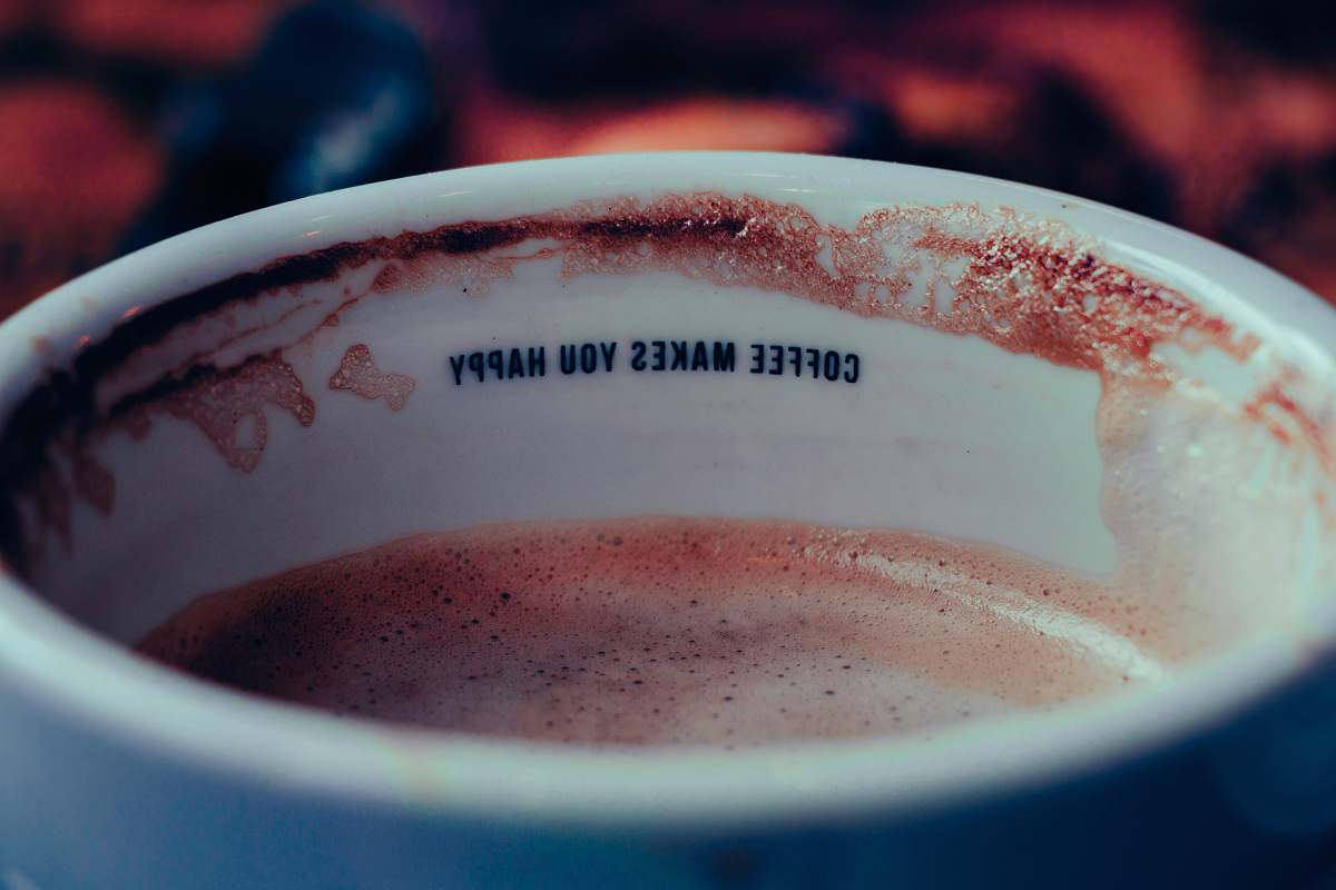 stock photos free  of drink focus photo of white ceramic cup filled with coffee cup