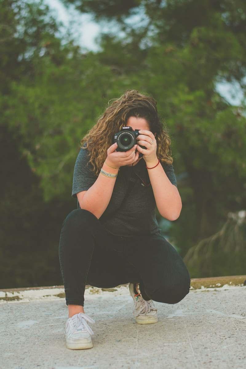 stock photos free  of person woman taking photo apparel