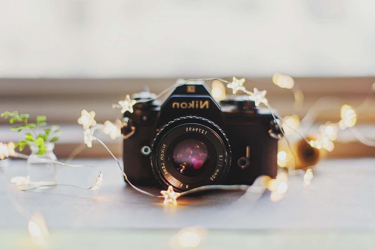 stock photos free  of electronics black Nikon camera photography