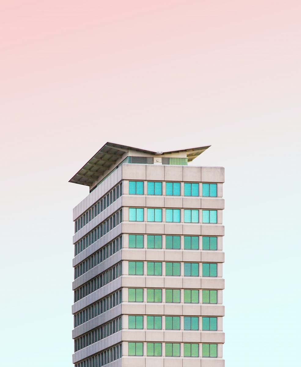 stock photos free  of building gray concrete building illustration office building