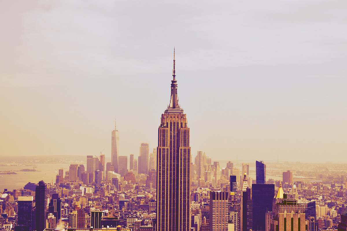 stock photos free  of architecture Empire State Building urban