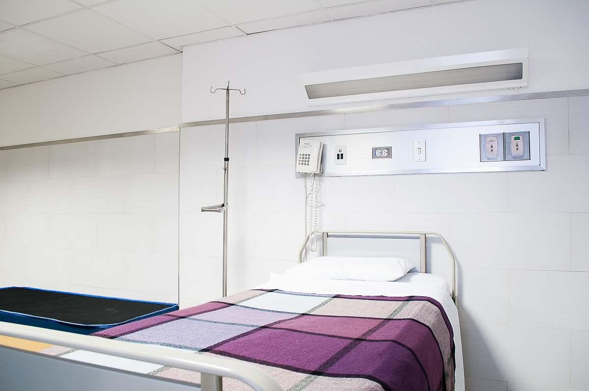 stock photos free  of hospital empty hospital bed bed