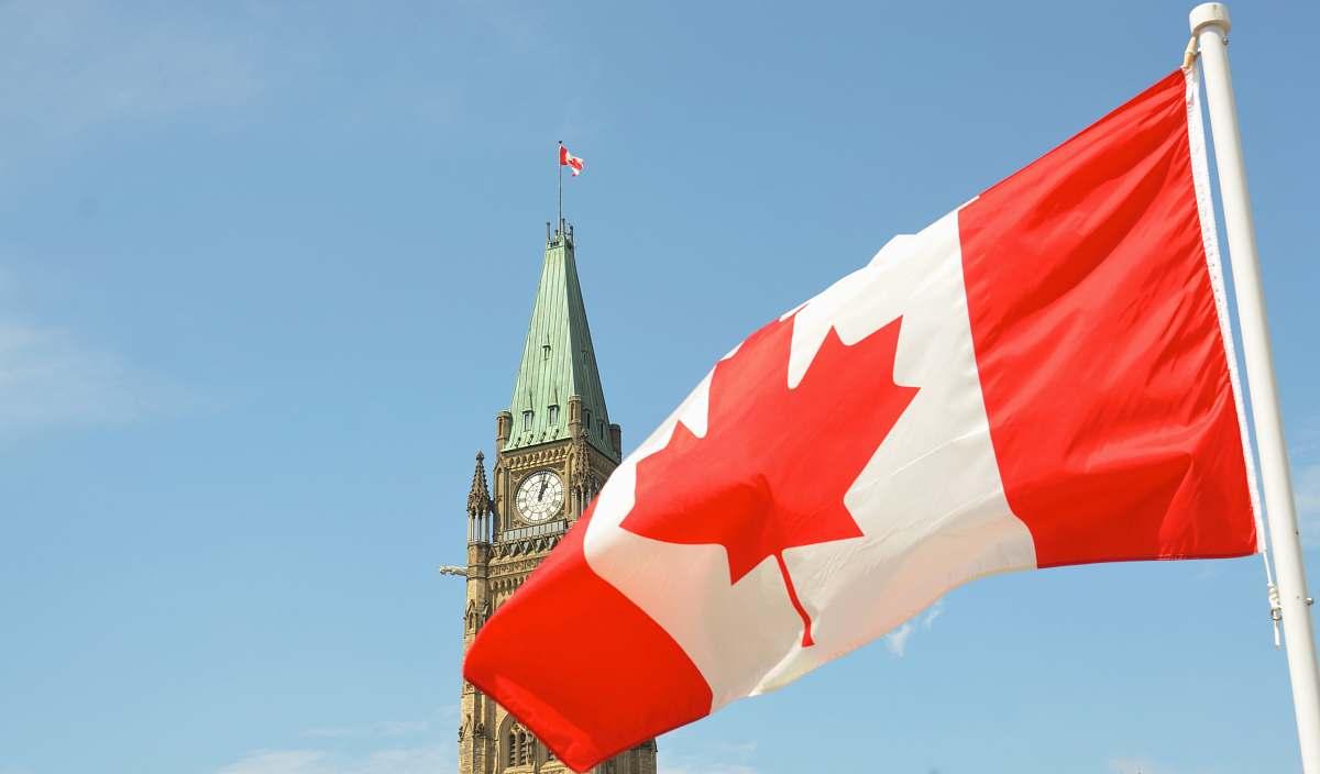 stock photos free  of building flag of Canada symbol