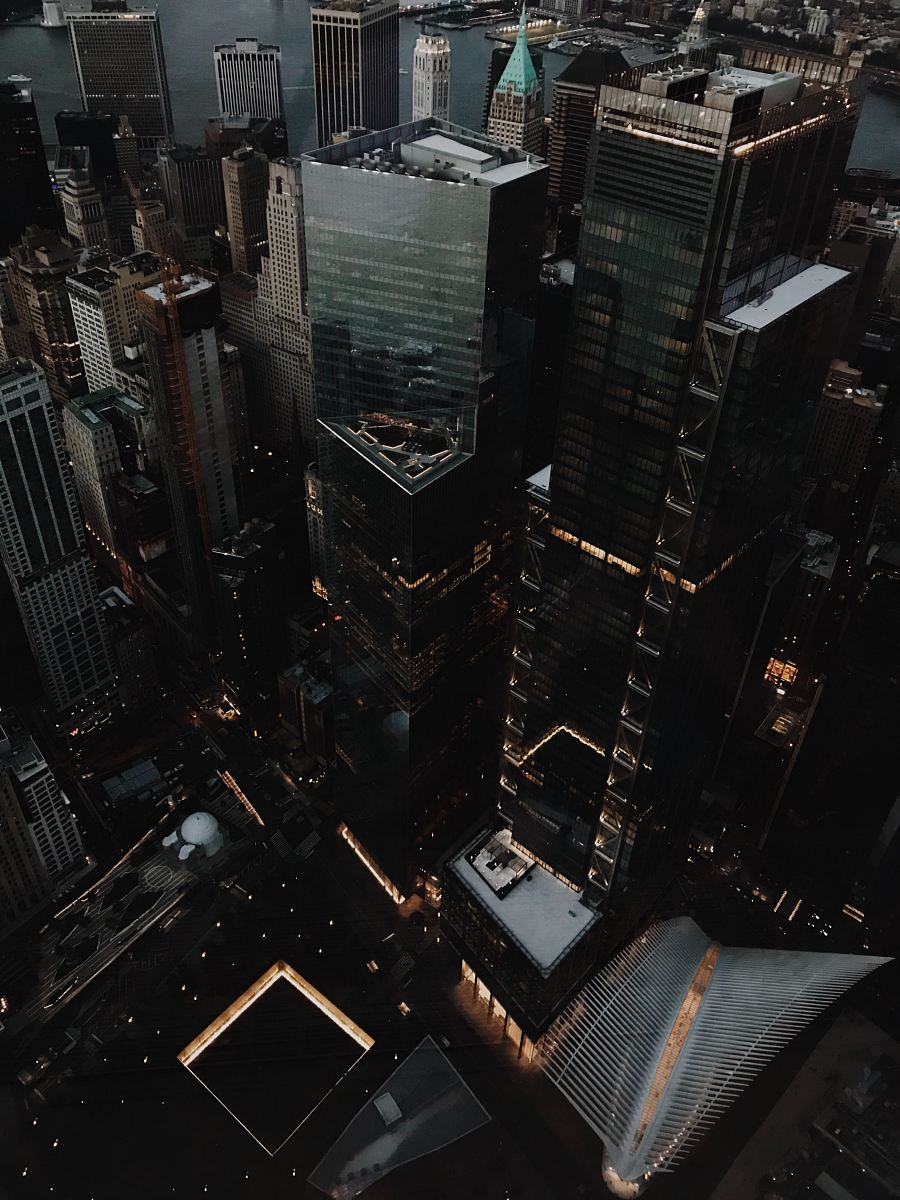 stock photos free  of aerial photo of city buildings during daytime