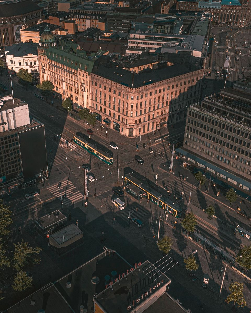 stock photos free  of aerial photography city buildings