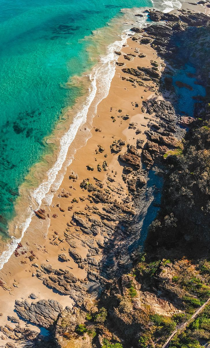 stock photos free  of aerial view of beach