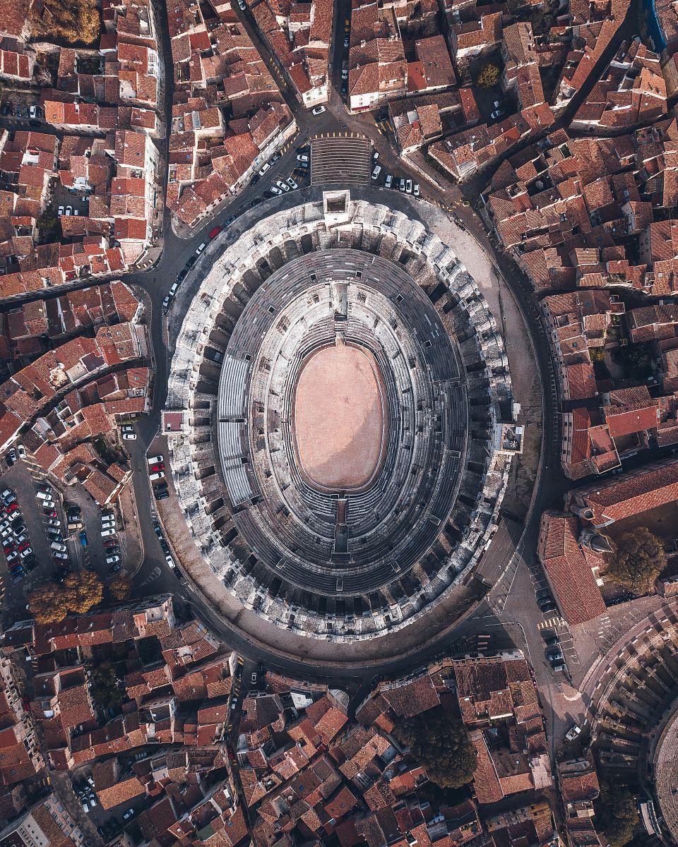 stock photos free  of aerial view of stadium during daytime