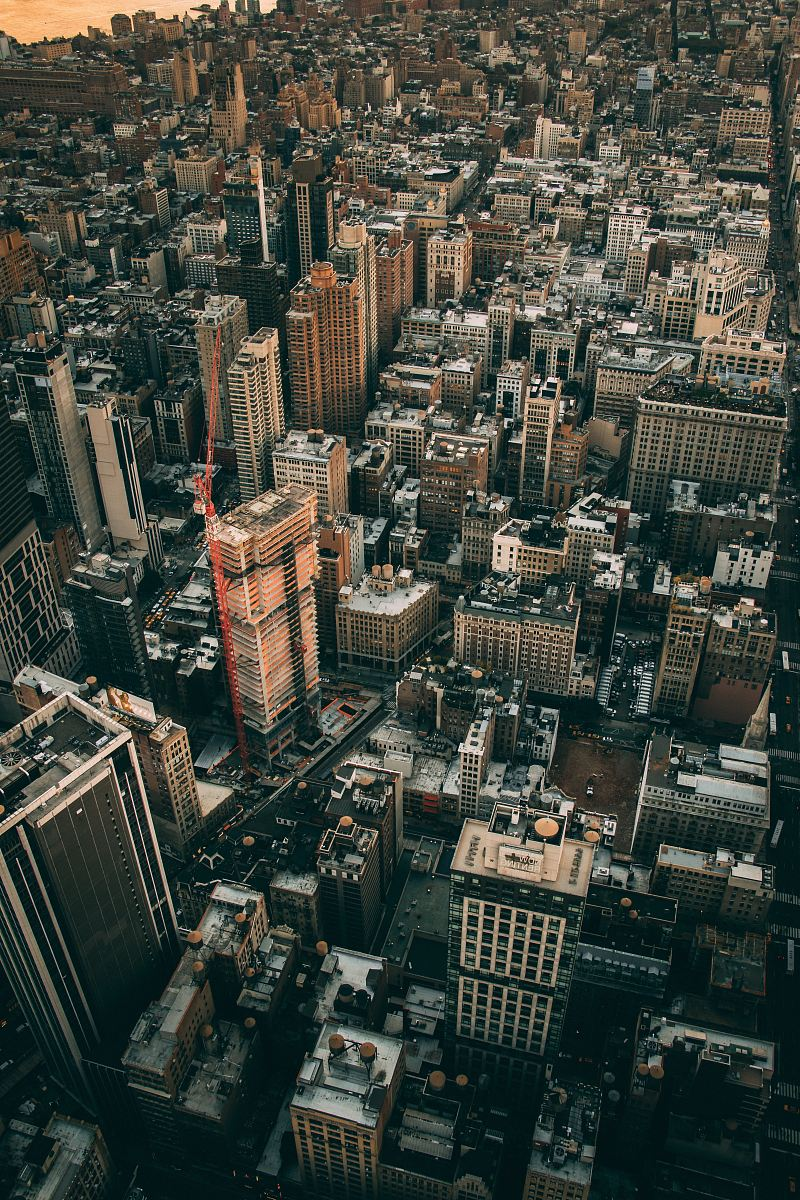 stock photos free  of aerial view photography of city