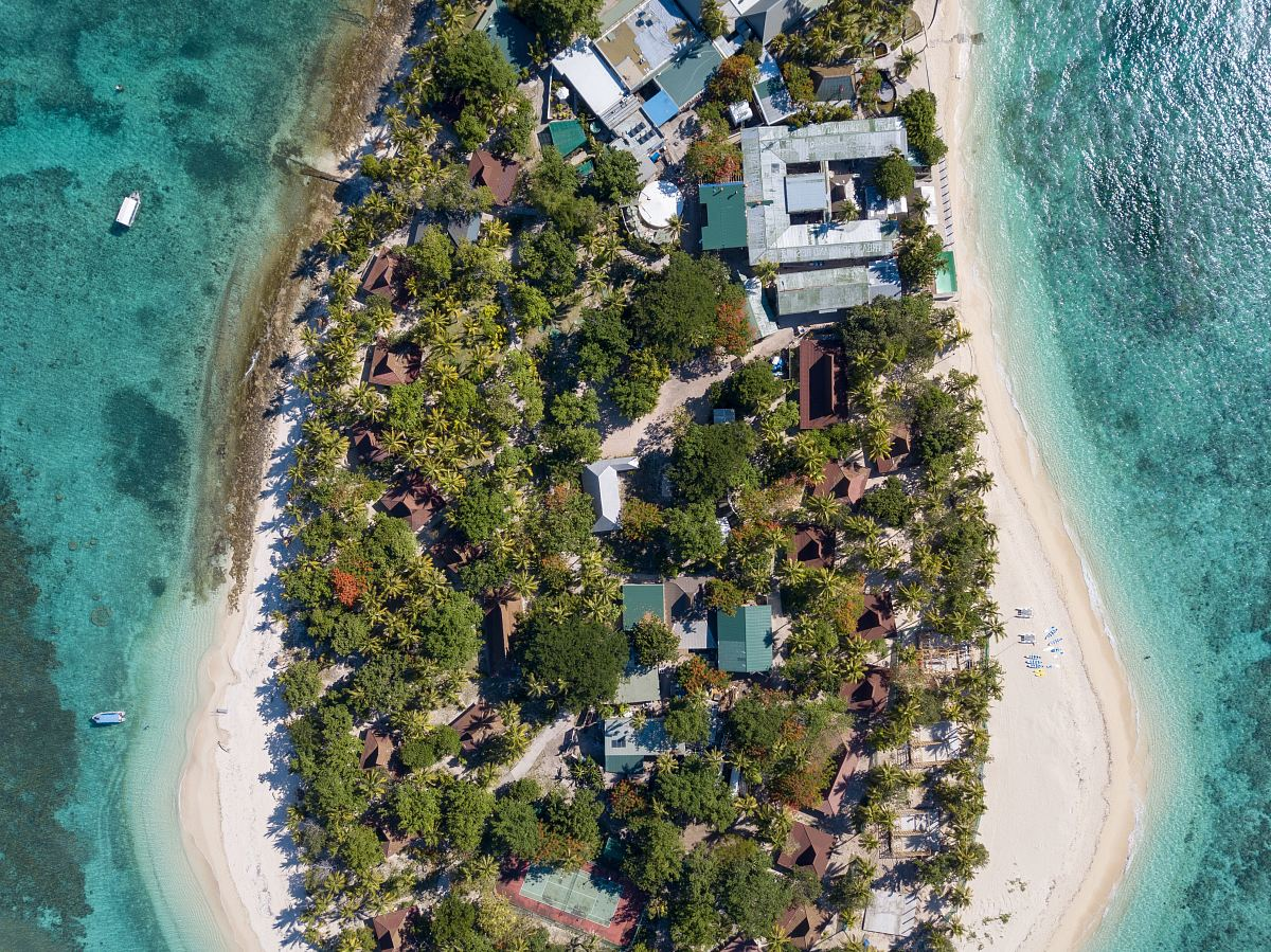 stock photos free  of bird's eye photography of island