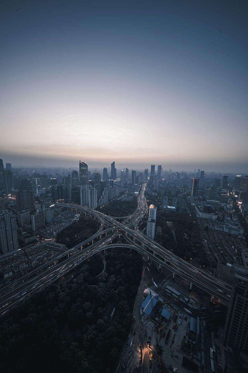 stock photos free  of bird's eye view of cityscape