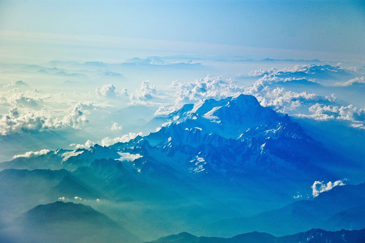 stock photos free  of bird's-eye view of mountain rang