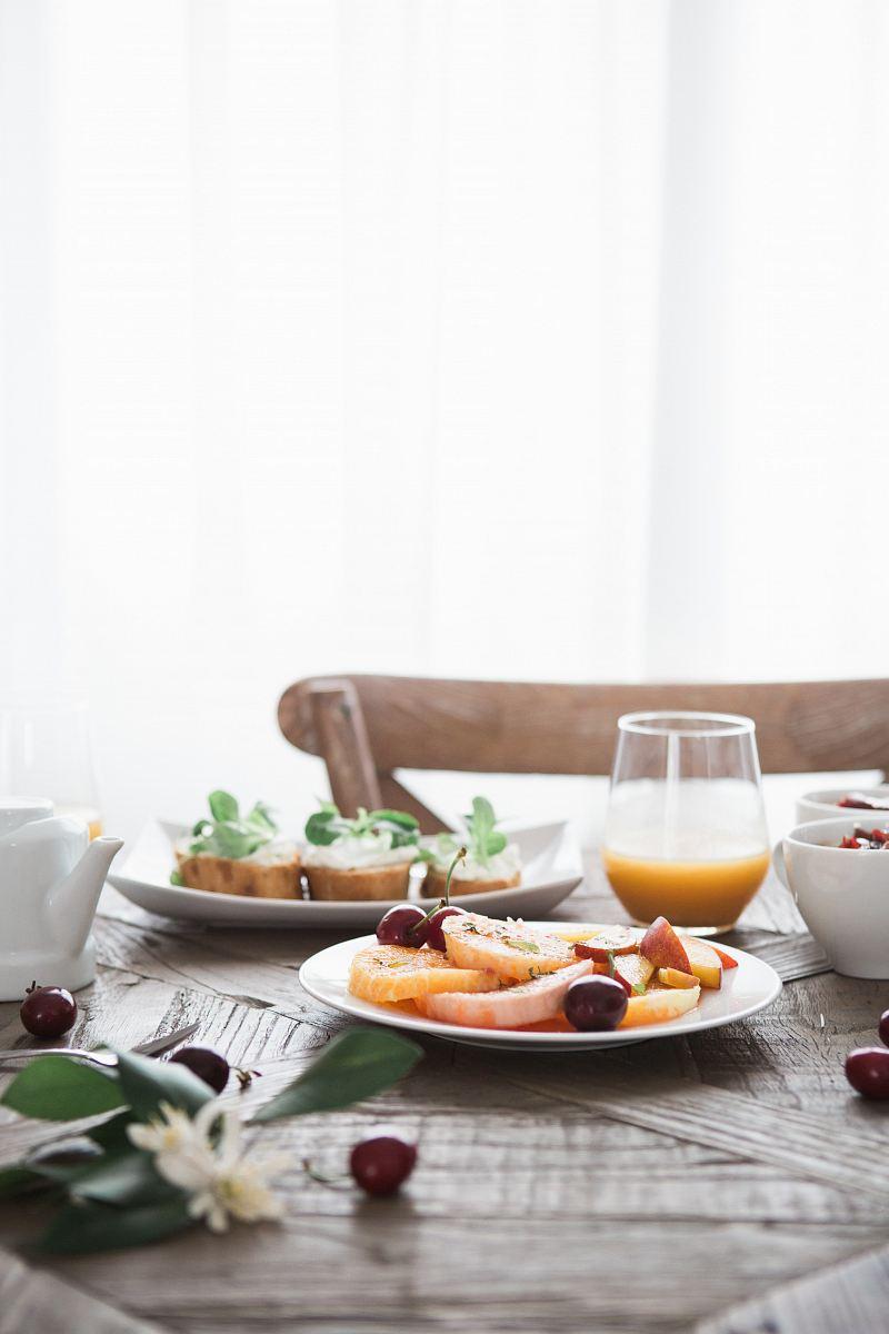 stock photos free  of dishes on white ceramic plates