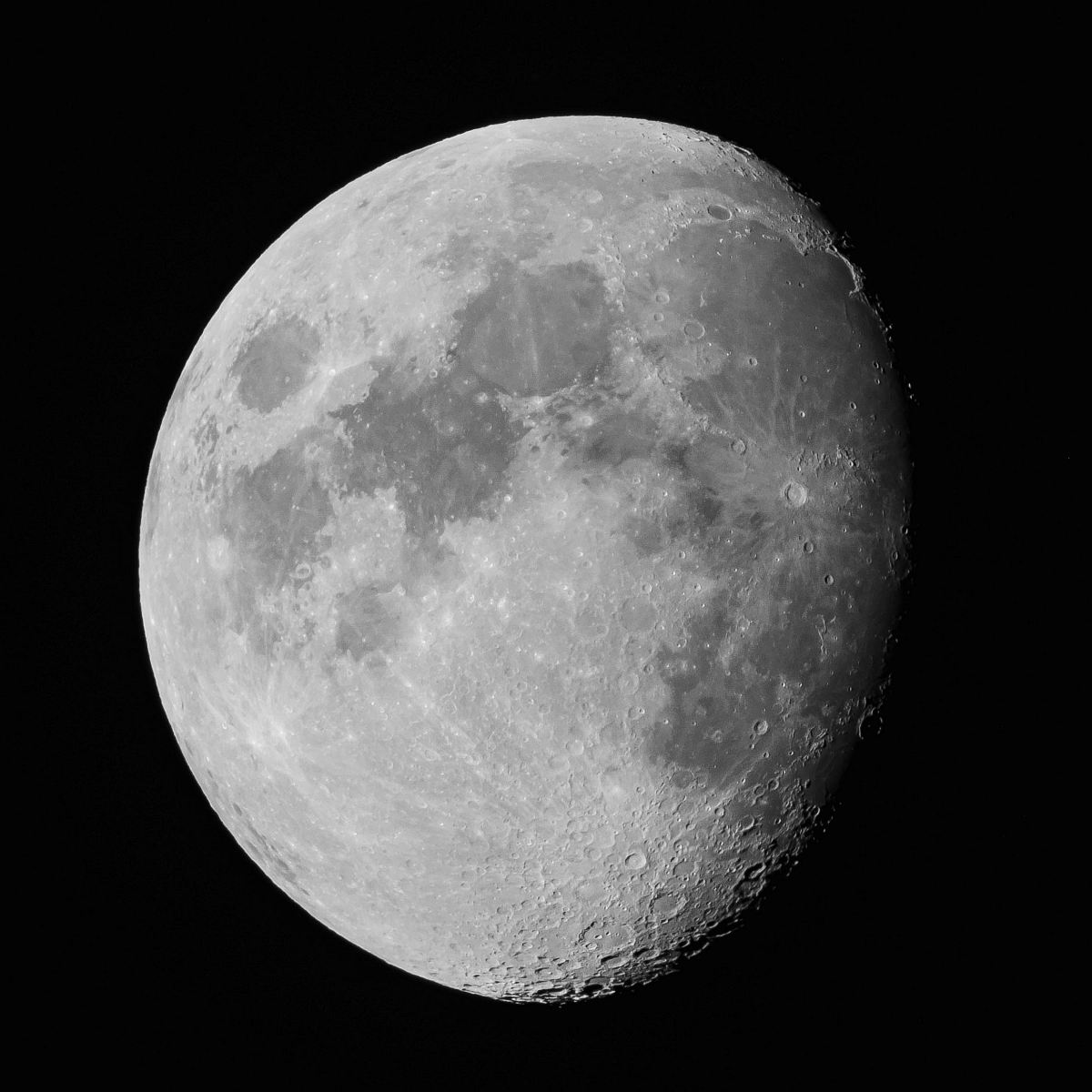 stock photos free  of gray scale photo of moon