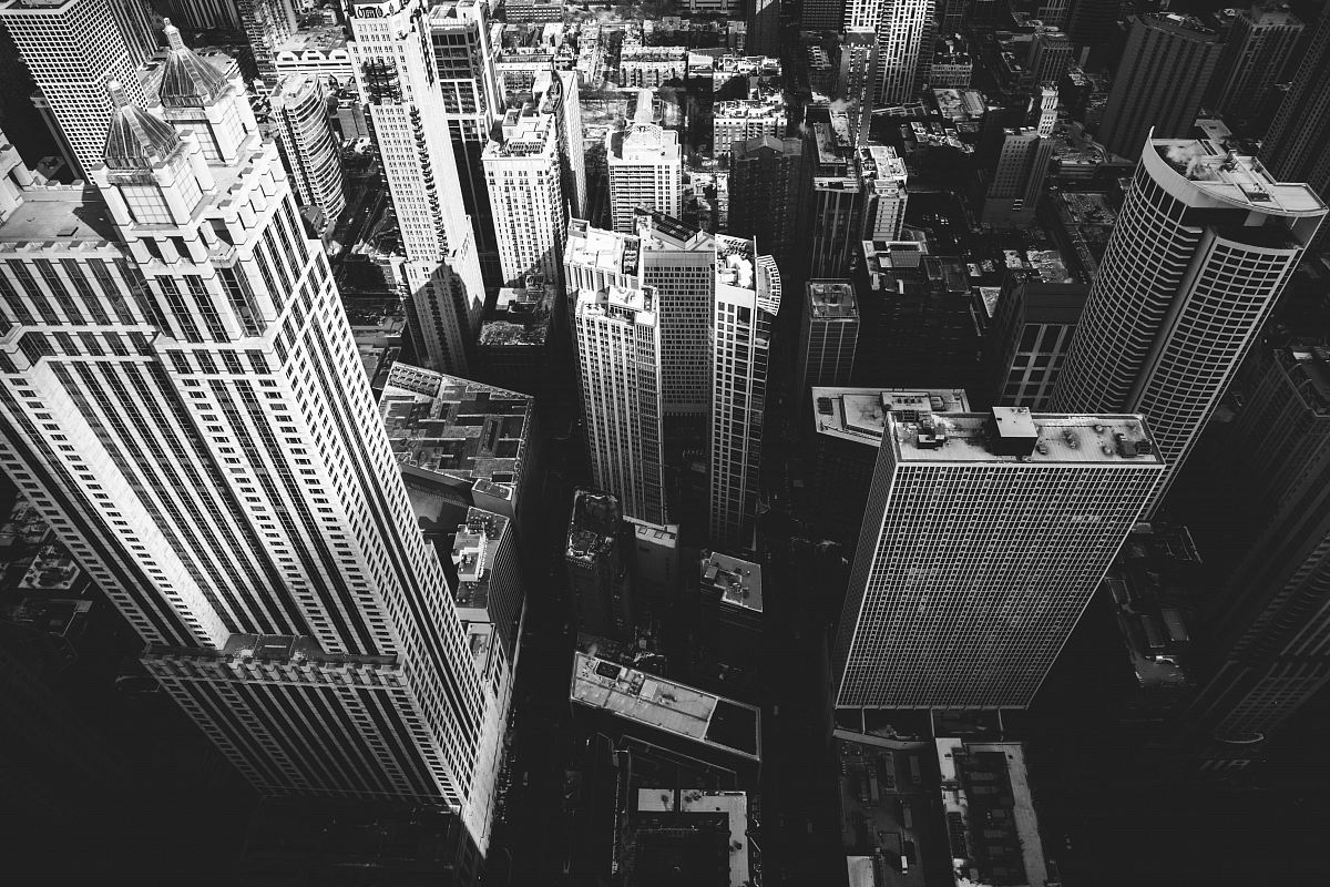 stock photos free  of grayscale photography of buildings