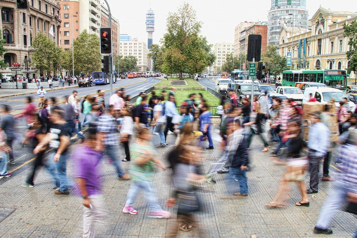 stock photos free  of timelapse photo of people passing the street