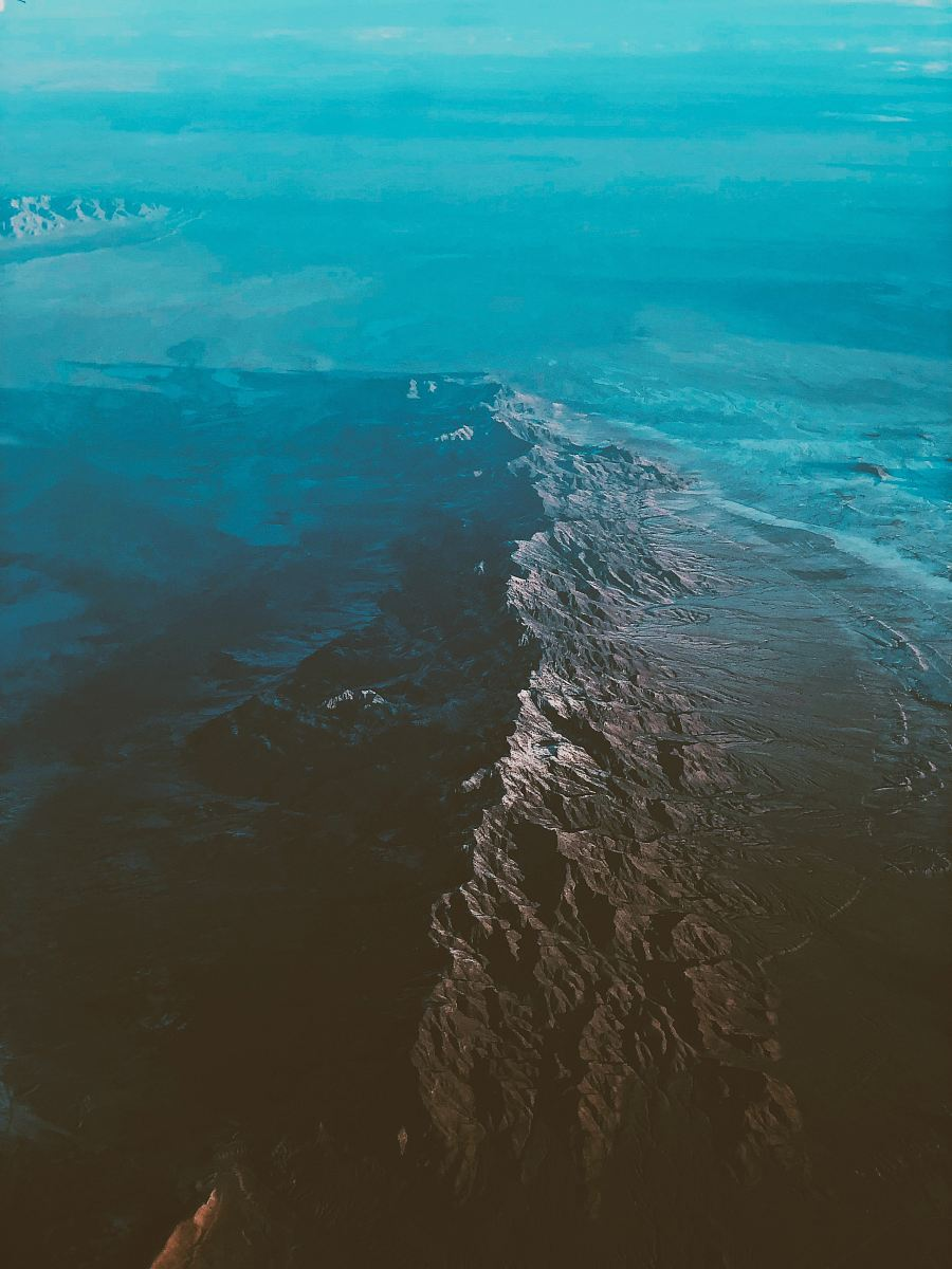 stock photos free  of top view of ocean