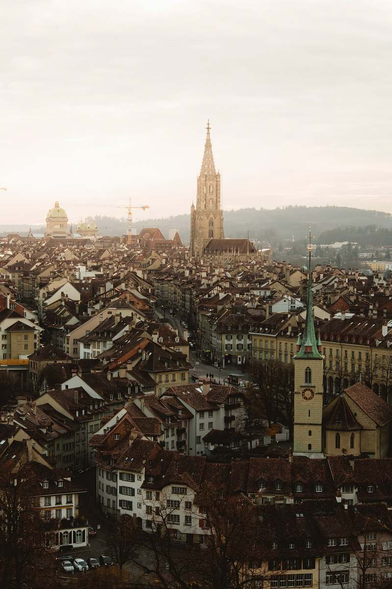stock photos free  of architecture aerial view photography of buildings during daytime church