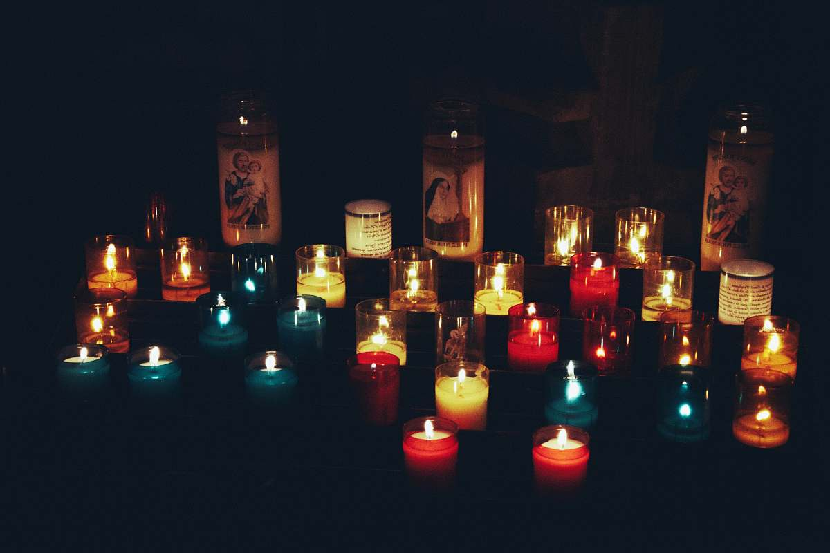 stock photos free  of fire assorted-color tealight candles alcohol