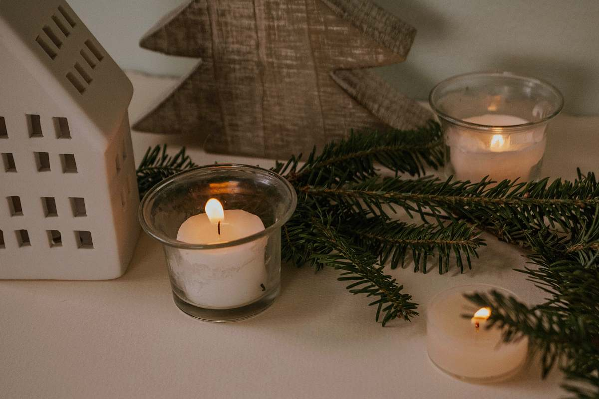 stock photos free  of beverage clear and white votive candle milk