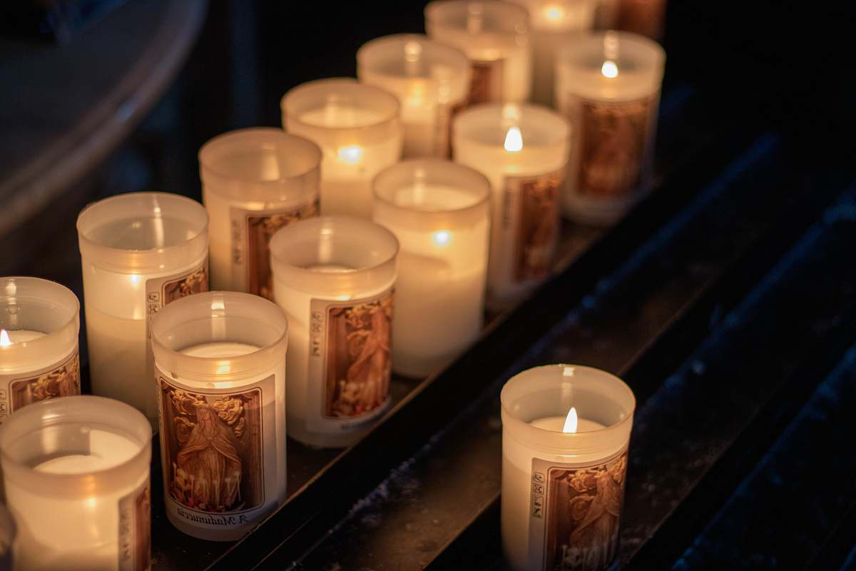 stock photos free  of fire lighted tealight candles drink