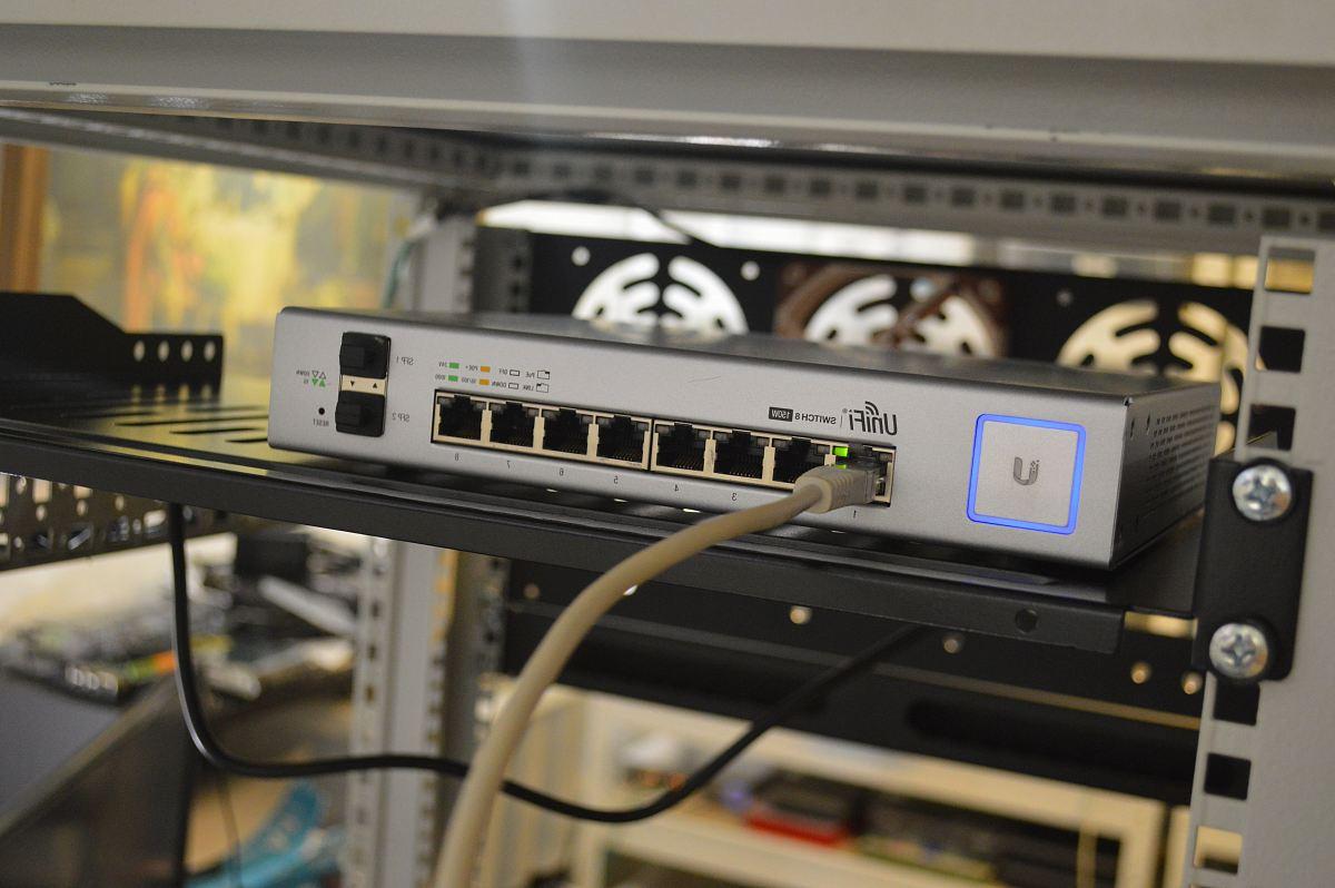 stock photos free  of white ethernet switch