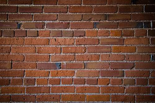 photo brick brown concrete bricked wall brown free for commercial use images