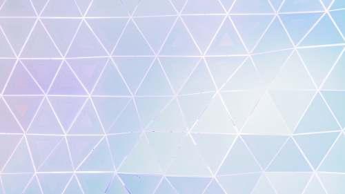 pattern polyhedral wall ornament