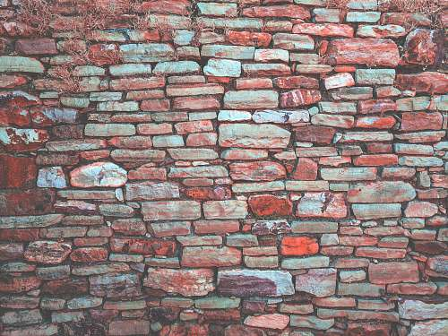 photo texture red pavement bricked wall brick free for commercial use images