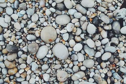 texture white and brown pebbles pebble