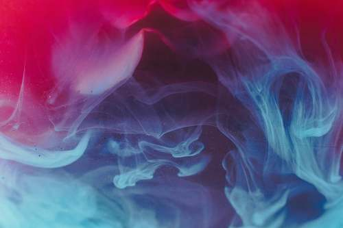 abstract blue, red, and black smoke digital wallpaper smoke