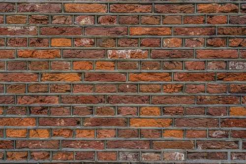 photo background brown brick wall brick free for commercial use images