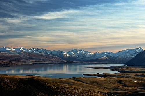 nature landscape photography of lake and mountain landscape