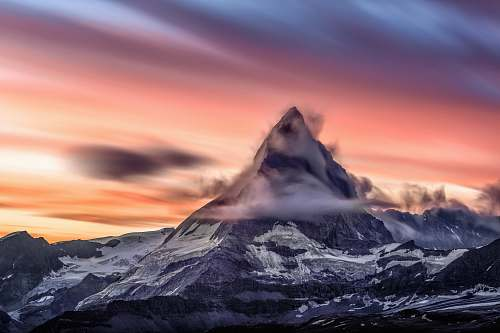 nature landscape photography of mountain during daytime landscape