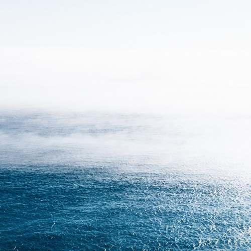 sea blue calm ocean ocean