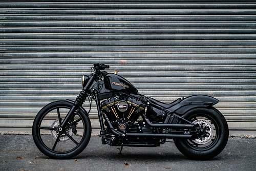 motorcycle black motorcycle vehicle