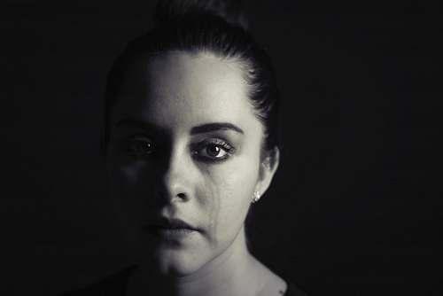person woman's face face